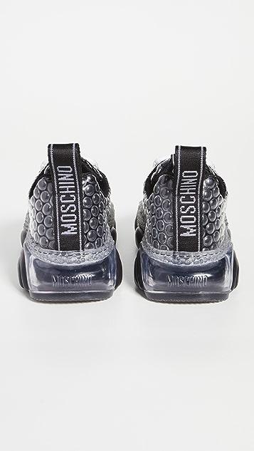 Moschino Moschino Teddy Sole Bubble Sneakers