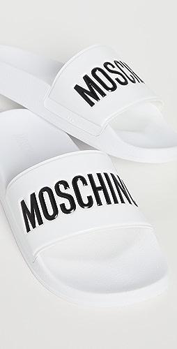 Moschino - Moschino Rubber Pool Slides