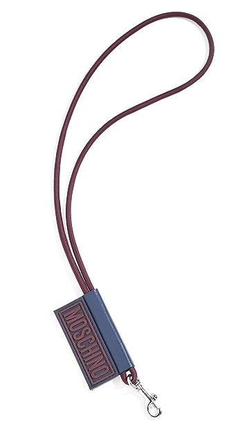 Moschino Moschino Logo Keychain
