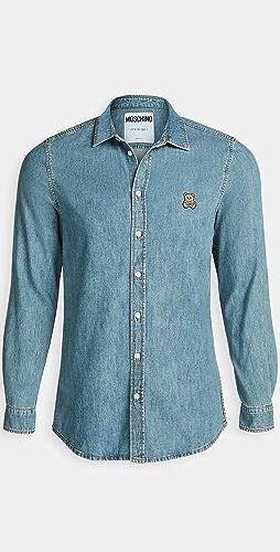 Moschino - Bear Chambray Shirt