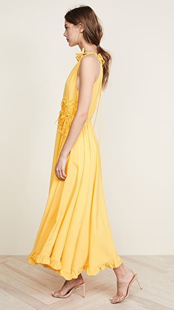 Marianna Senchina High Neck Gown