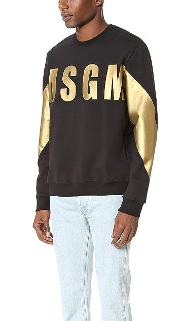 MSGM Logo Sweatshirt