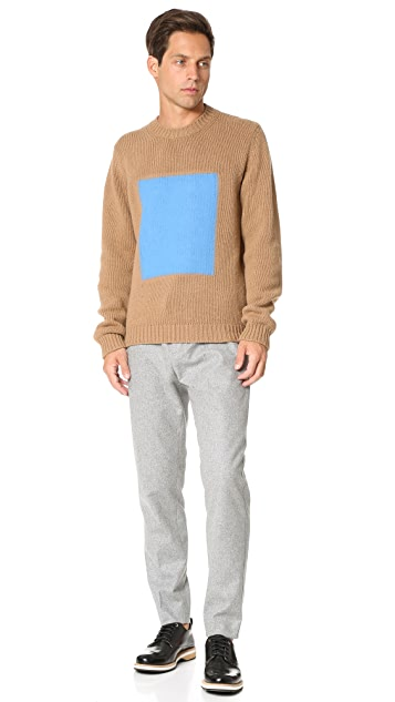 MSGM Block Sweater