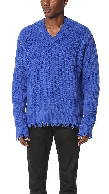 MSGM V Neck Sweater