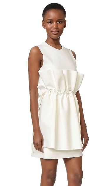 MSGM Sleeveless Dress with Ties