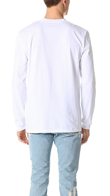 MSGM Want You Long Sleeve Tee