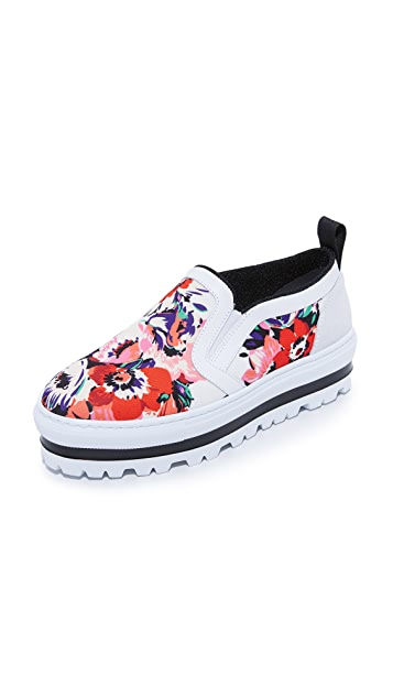 4237068ffaac MSGM Slip On Sneakers