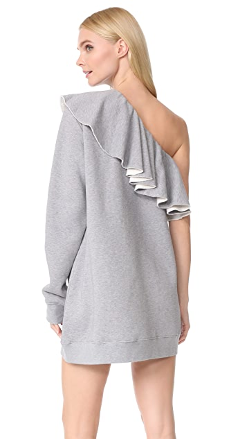 MSGM Sweatshirt Dress