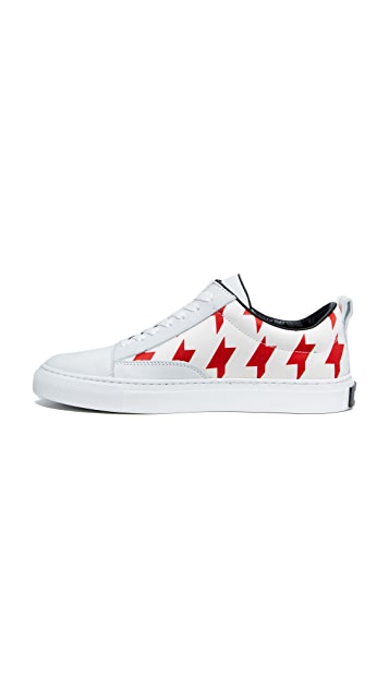 MSGM Midcut Cupsole Sneakers