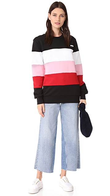 MSGM Stripe Sweater