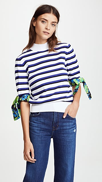 MSGM Knit Stripe Sweater