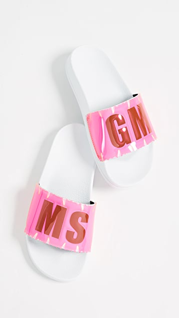 MSGM Leaf Pool Slides