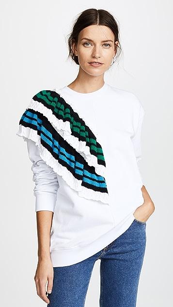 MSGM Crochet Sweatshirt