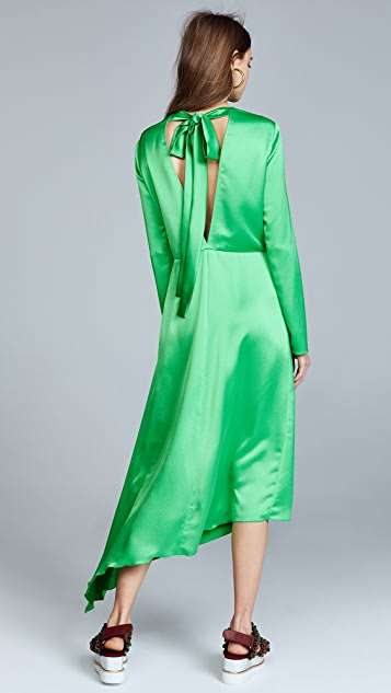 MSGM Asymmetrical Dress