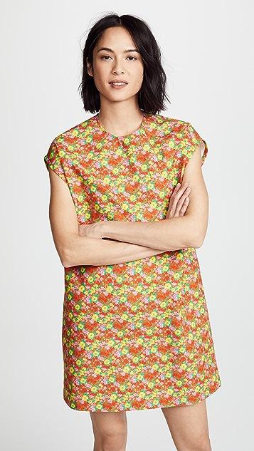 MSGM Floral Dress