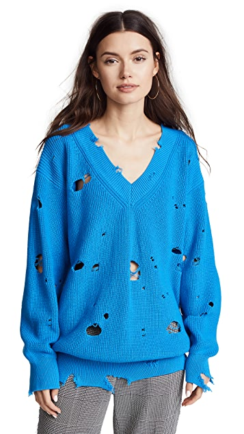 MSGM Slouchy Sweater