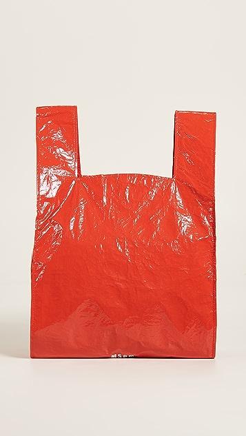 MSGM Shopper Tote - Red