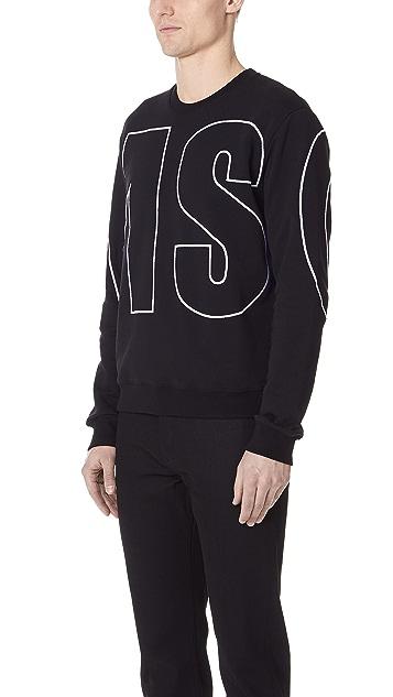 MSGM Giant MSGM Sweatshirt