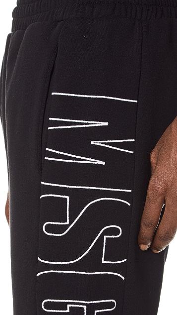 MSGM Side Logo Sweatpants