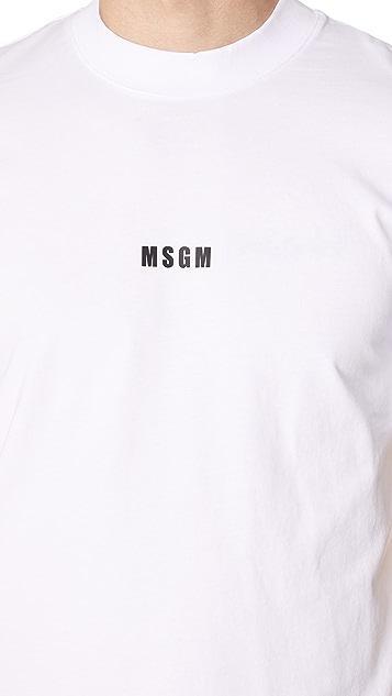 MSGM MSGM Logo Tee