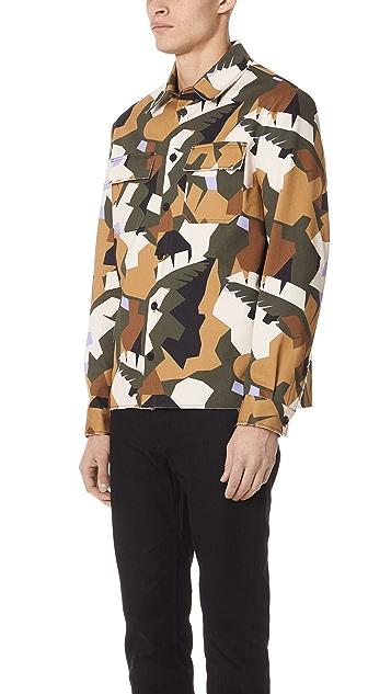 MSGM Camo Shirt