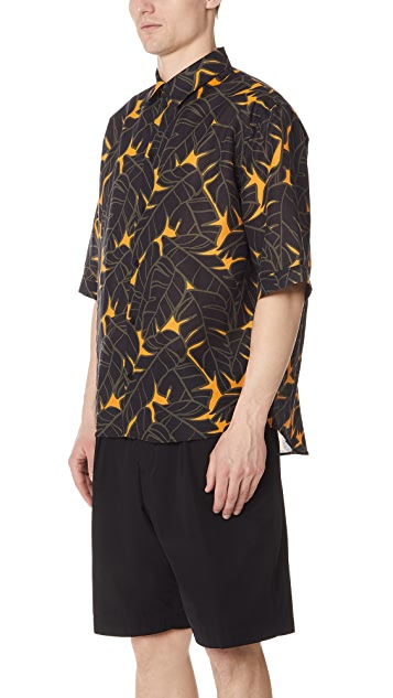 MSGM Tropical Shirt