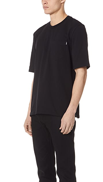 MSGM 4 Colors Logo Short Sleeve Tee