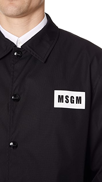 MSGM Cordura Coaches Jacket