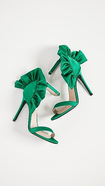 MSGM Rouche Sandals