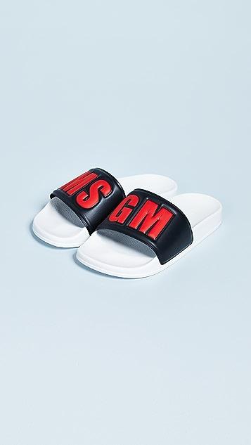 MSGM Pool Slides