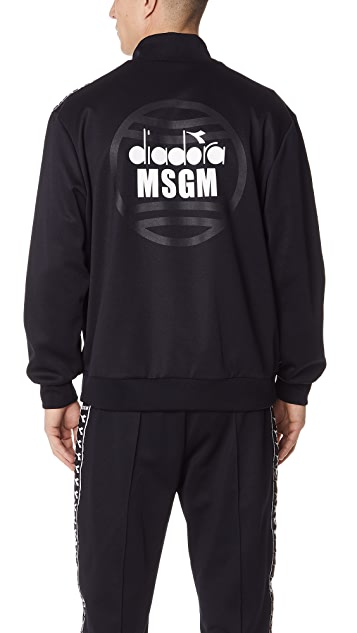 MSGM Diadora Track Jacket