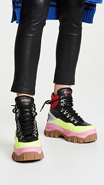 MSGM Tractor Block Boots