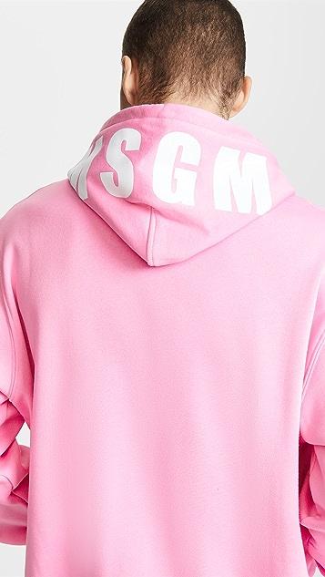 MSGM Various Logo Sweatshirt