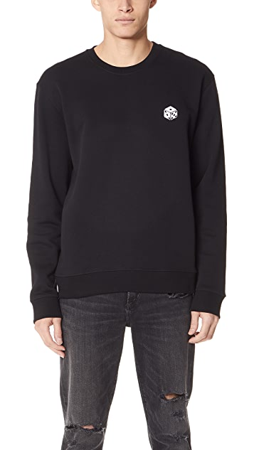 MSGM Dice Patch Sweatshirt
