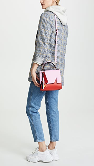 MSGM Сумка-портфель среднего размера