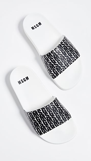 MSGM Logo Pool Slides