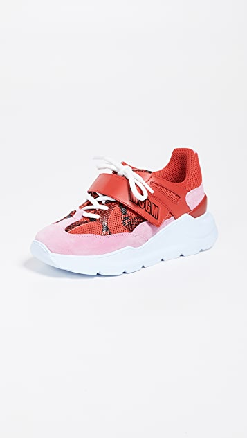 MSGM Velcro Z Running Sneakers