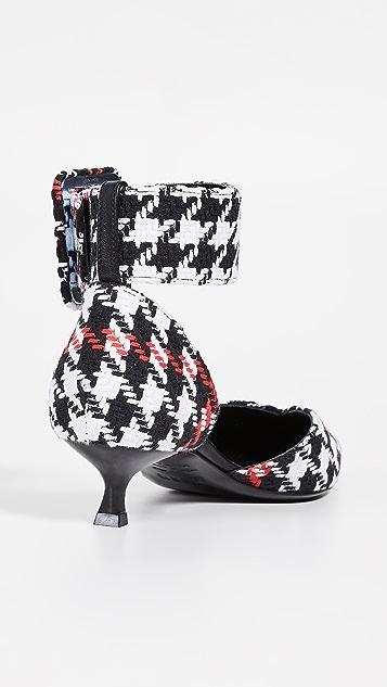 MSGM Ankle Strap Low Heels