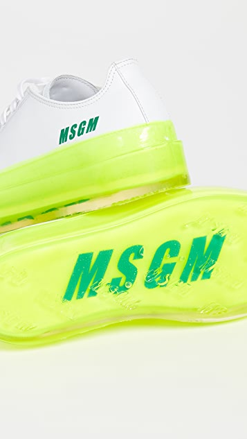 MSGM Кроссовки Floating