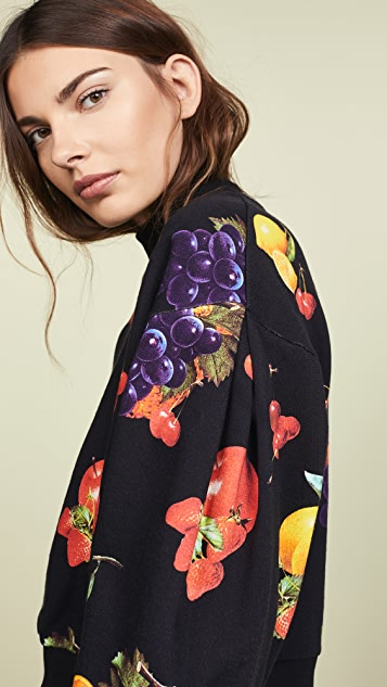 MSGM Fruit Sweatshirt