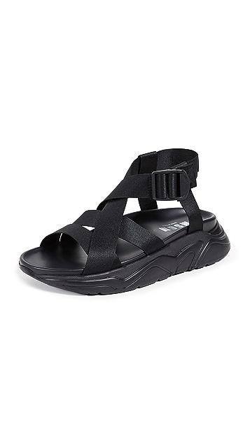 MSGM Multistrap Sandals