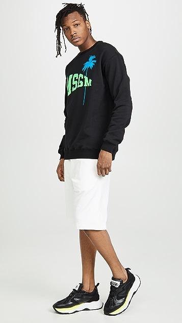 MSGM College Logo Sweatshirt