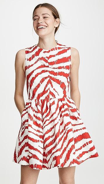 MSGM Платье Frock в полоску
