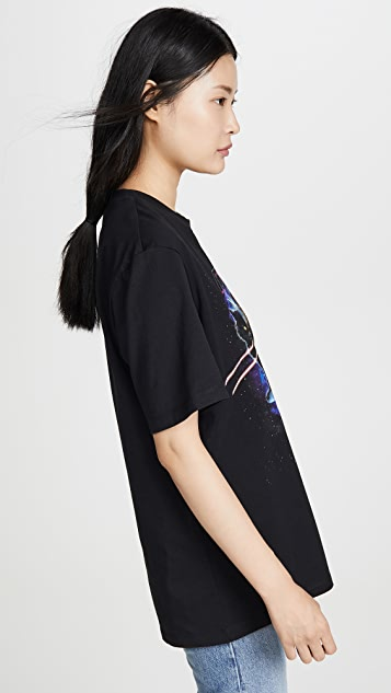 MSGM 激光猫咪 T 恤
