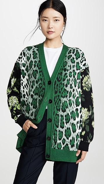Leopard Cardigan by Msgm