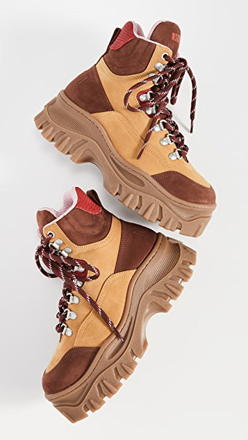 MSGM Chunky Sneaker Boots