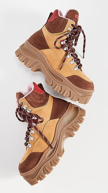 MSGM Объемные ботинки в стиле кроссовок