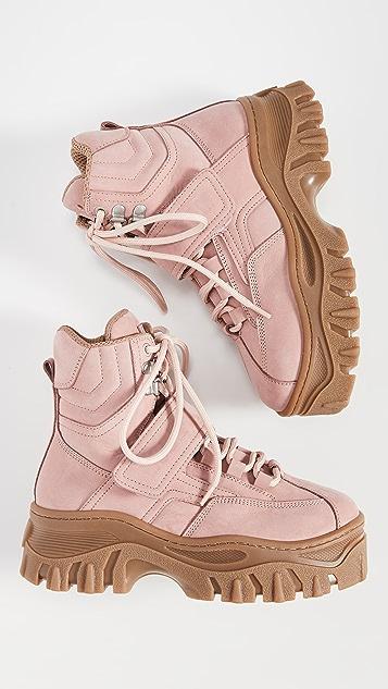 MSGM 粗版固定带运动靴
