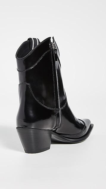 MSGM 西部风情及踝短靴