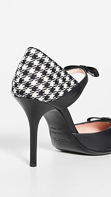MSGM Mary Jane D'Orsay Pumps